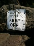 Private Beach KEEP OFF